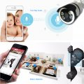 1080P IP Camera outdoor Night Vision Two Way Audio video Surveillance Camera WiFi