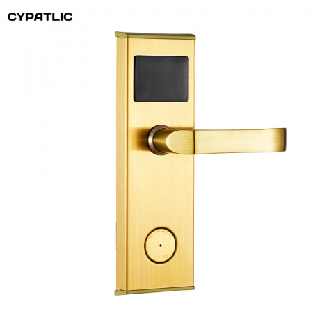 Smart IC/ID card lock hotel/apartment/office electromagnetic induction door lock