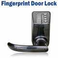 2018 Black LS9 Biometric Door Lock Fingerprint Password Lock Digital Code Keyless