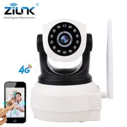 ZILNK 3G 4G Sim Card Camera 720P HD P2P Network Wireless Wifi IP Camera Home Securit
