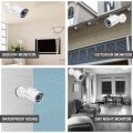 POE IP Camera 3.6MM 2MP 1080P Home Security Network IR LED View Video Surveillance