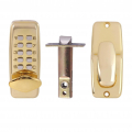 AIBOLI Zinc alloy digital Smart lock Gold and silver electronic Door lock Anti-theft