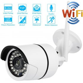 1080P 2MP IP Camera Surveillance CCTV Camera Outdoor Bullet Security Wifi Camera