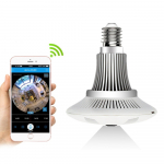 ZILNK Panoramic 360 Degree Bulb Light IP Camera Wireless Wifi FishEye Lens 1080P