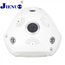 WIFI IP Camera 360 Fisheye Panoramic Dome Camera 1.0MP 720P ONVIF CCTV Night Vision