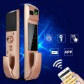5 In 1 Smart Fingerprint Lock Digital Electronic Door Lock For Fingerprint Passwords