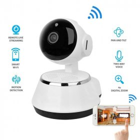 2017 Wireless IP Camera WIFI 720P CCTV Home Security Cam Micro SD Slot Support