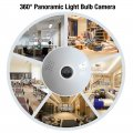 1.3MP Bulb wifi camera wireless Panoramic 360 degree Ip Camera wifi Smart Home 3D