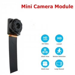 1080P Latest Wireless 2.4G Mini Camera Module Board DIY Camcorder Remote Control