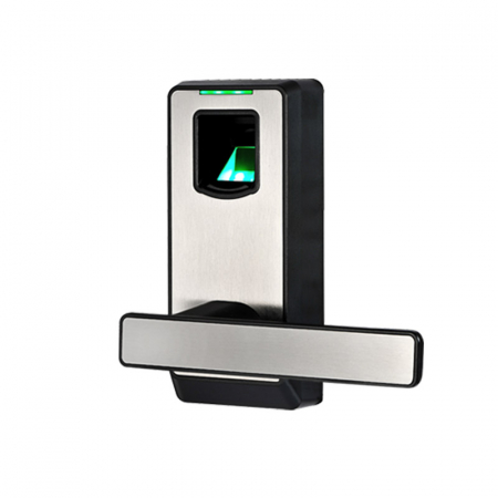 Biometric Fingerprint Door Lock with Mechanical Key Free-style Handle Smart Entr