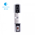 We.lock smart door lock fingerprint double side APP controlfor home office lock
