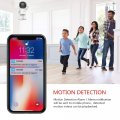 1080P Robot Wifi Camera Home Security Wireless IP Camera Baby Monitor 2.0MP Night