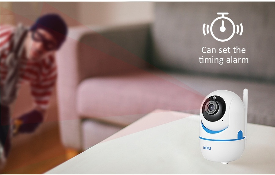 KERUI 720P 1080P Portable Small Mini Indoor Wireless Home Security WiFi IP Camera Surveillance Camera Night Vision CCTV Camera_12