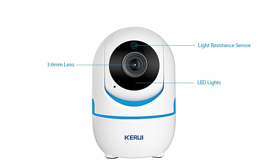 KERUI 720P 1080P Portable Small Mini Indoor Wireless Home Security WiFi IP Camera Surveillance Camera Night Vision CCTV Camera_14